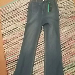 NWT Style & Co high rise flare leg jeans